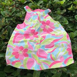 Bright Like New Floral Dress 6-12 months